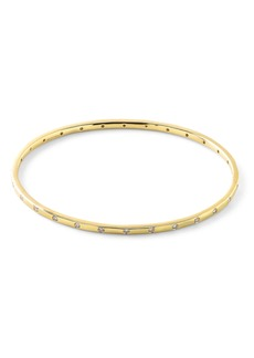 Ippolita Thin Diamond Bangle