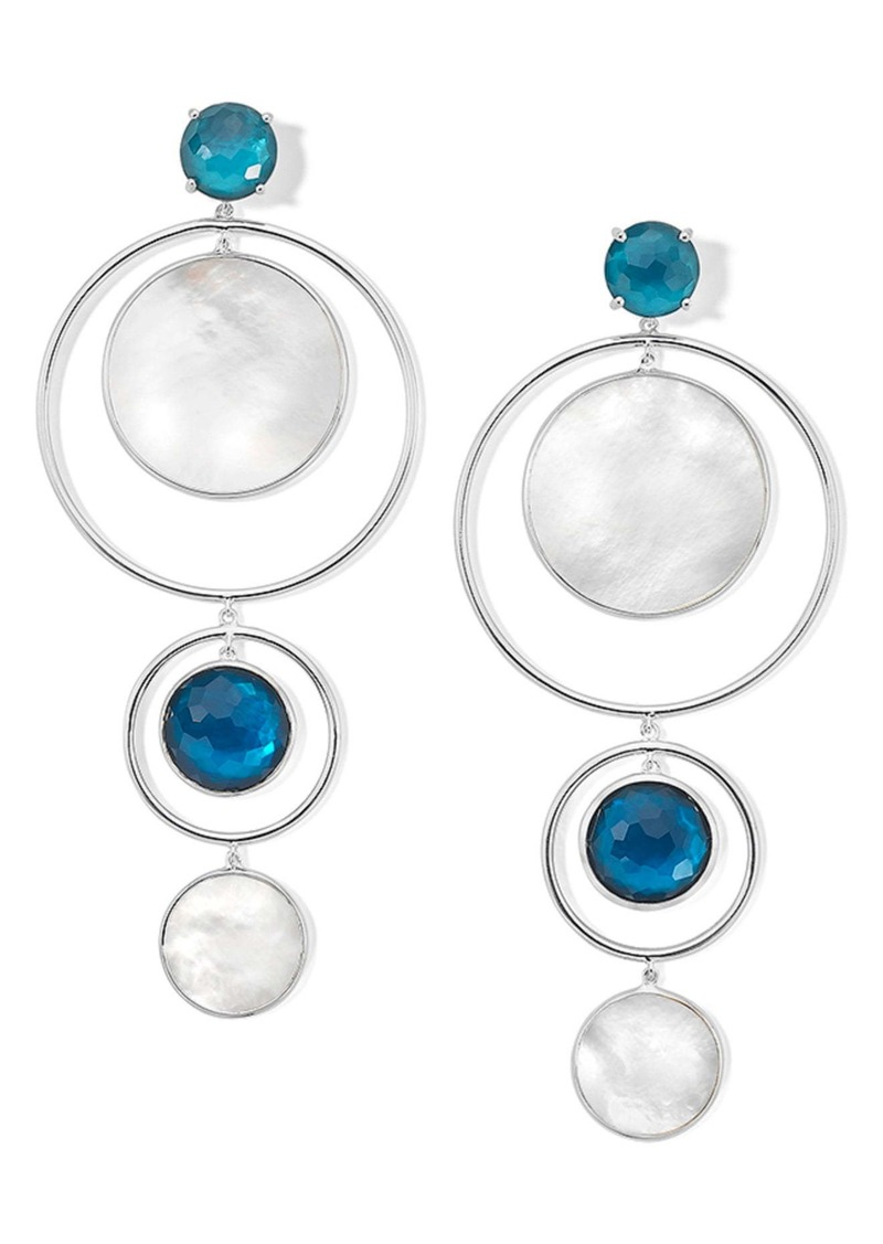 Ippolita Wonderland Circles Statement Earrings