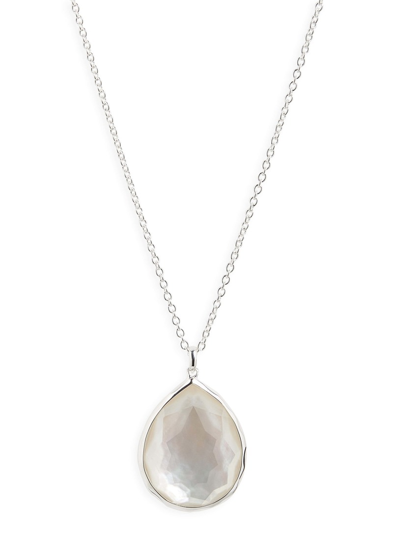 Ippolita 'Wonderland' Large Teardrop Pendant Necklace (Nordstrom Exclusive)