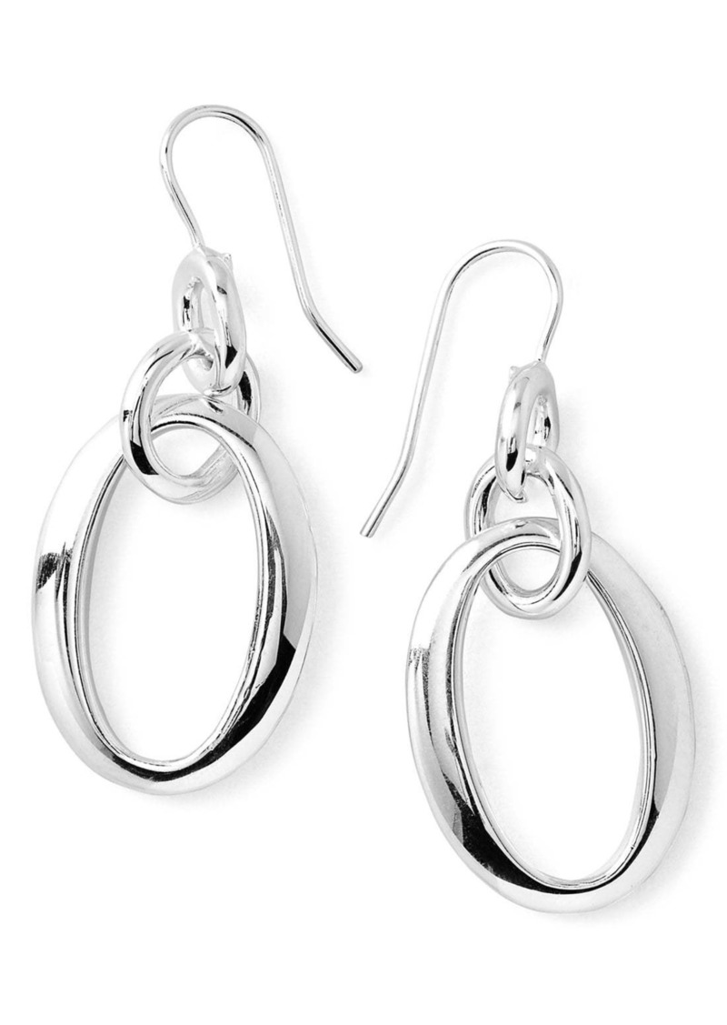 Ippolita 'Glamazon' Oval Link Earrings
