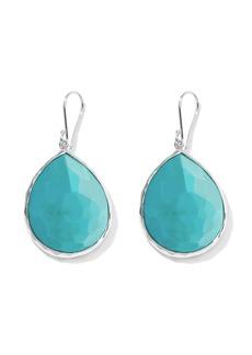 Ippolita large Rock Candy Teardrop turquoise earrings