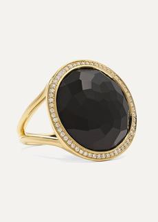 Ippolita Lollipop 18-karat Gold Onyx And Diamond Ring