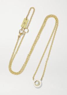 Ippolita Lollipop Carnevale 18-karat Gold Ceramic And Diamond Necklace
