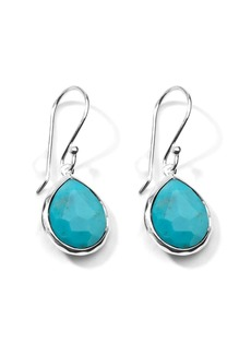 Ippolita mini Rock Candy Teardrop turquoise earrings
