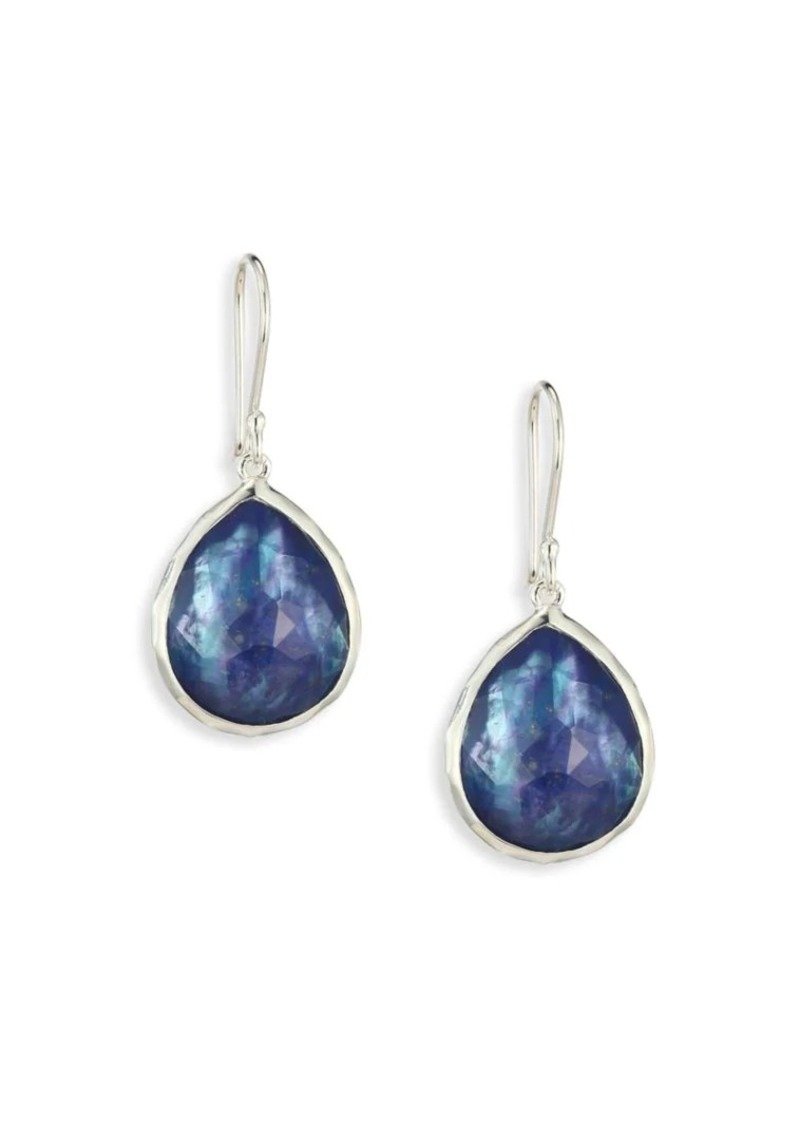 Ippolita Rock Candy Small Sterling Silver & Triplet Teardrop Earrings