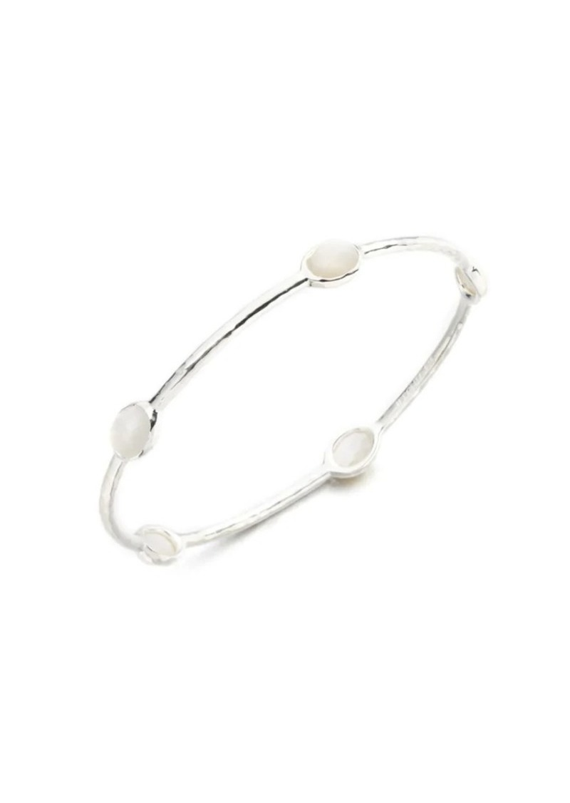 Ippolita Rock Candy Sterling Silver & Mother-Of-Pearl 5-Station Bangle Bracelet