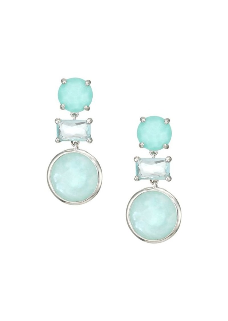 Ippolita Rock Candy Sterling Silver & Multi-Stone Drop Earrings