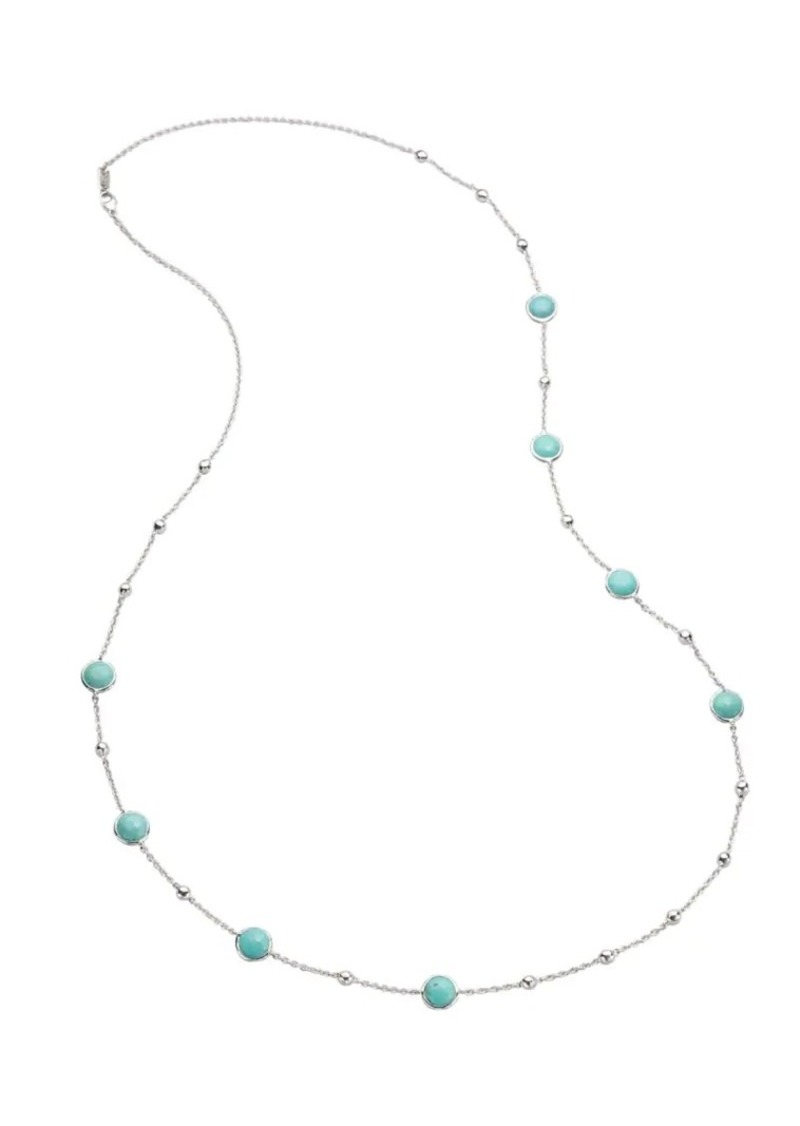 Ippolita Lollipop Sterling Silver & Turquoise Ball and Stone Multi-Station Necklace