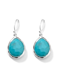 Ippolita small Rock Candy Teardrop turquoise drop earrings