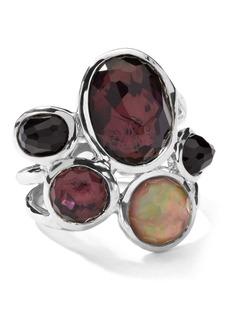 Ippolita Sterling Silver Wonderland 5-Stone Ring in Pizzelle