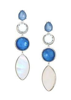 Ippolita Wonderland Sterling Silver & Doublet Linear Earrings