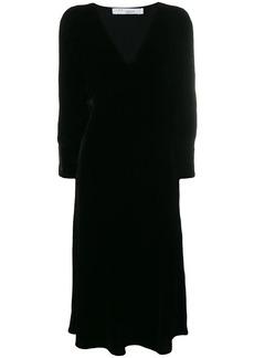 IRO v-neck midi dress