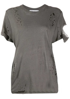 IRO distressed effect T-shirt