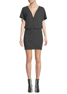 IRO Abandon Short-Sleeve Mini Dress