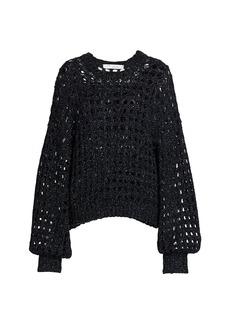 IRO Alyne Open-Knit Sweater