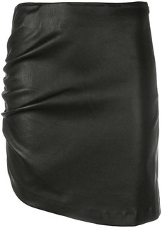 IRO Apava asymmetric leather skirt