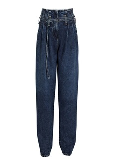 IRO Archa Tapered Paperbag Jeans