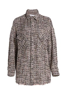 IRO Artyn Metallic Shirt Jacket