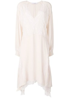 IRO asymmetric lace dress
