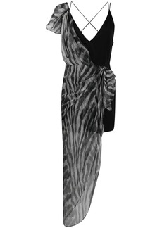 IRO asymmetrical layered dress