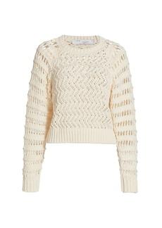 IRO Attica Open-Weave Sweater