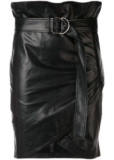IRO belted fitted skirt