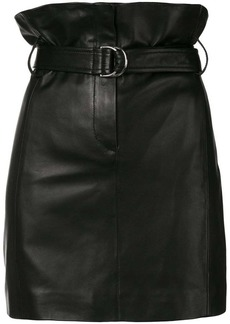 IRO belted high waist skirt