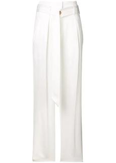 IRO belted high waist trousers