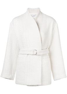 IRO belted single breasted coat