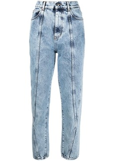 IRO bleached cropped jeans