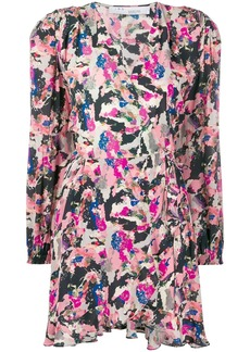 IRO Bloomy LS print dress
