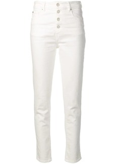 IRO buttoned skinny jeans