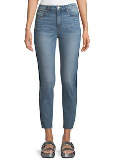 IRO Carnac Side-Panel Crop Skinny Jeans