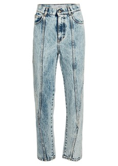 IRO Celsian Cropped Acid Wash Jeans