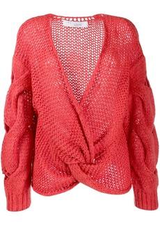 IRO chunky knit knot jumper