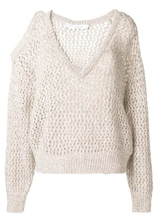 IRO cold shoulders knitted sweater