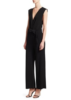 IRO Crew Sleeveless V-Neck Jumpsuit