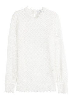 IRO Crochet Lace Top