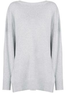IRO deep v back sweater