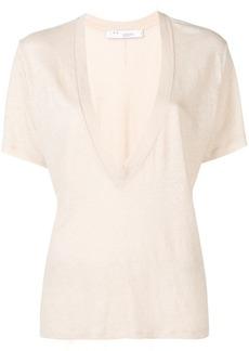 IRO deep V-neck T-shirt