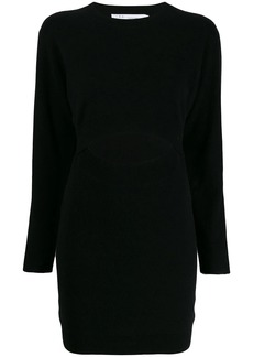 IRO Devlin cut-out detail knit dress