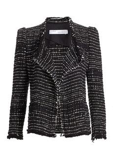 IRO Diana Puff Shoulder Tweed Jacket