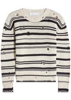 IRO Distressed Cotton Pullover