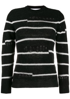 IRO distressed knit jumper