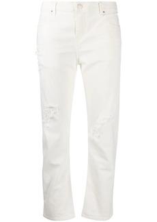IRO distressed straight-leg jeans