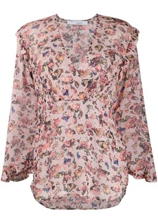 IRO Dollaa LS flowerprint blouse
