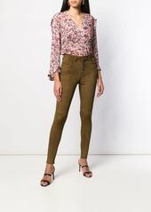 IRO Dollaa LS flowerprint blouse