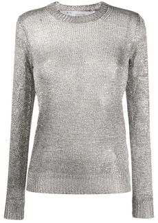 IRO Domus metallic knit jumper