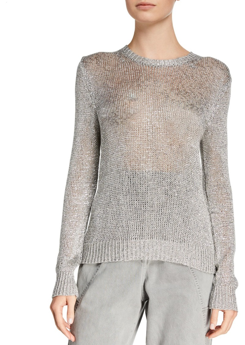 IRO Domus Metallic Knit Sweater