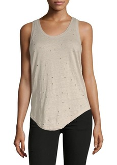 IRO Doris Linen Tank Top